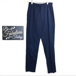 Vintage 90s Reed Hunter Navy Blue Trousers Size 8
